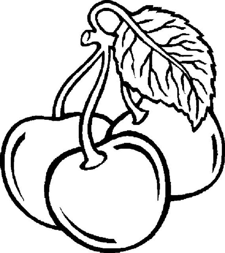 736x830 Fruit Vegetable Coloring Pictures Pages