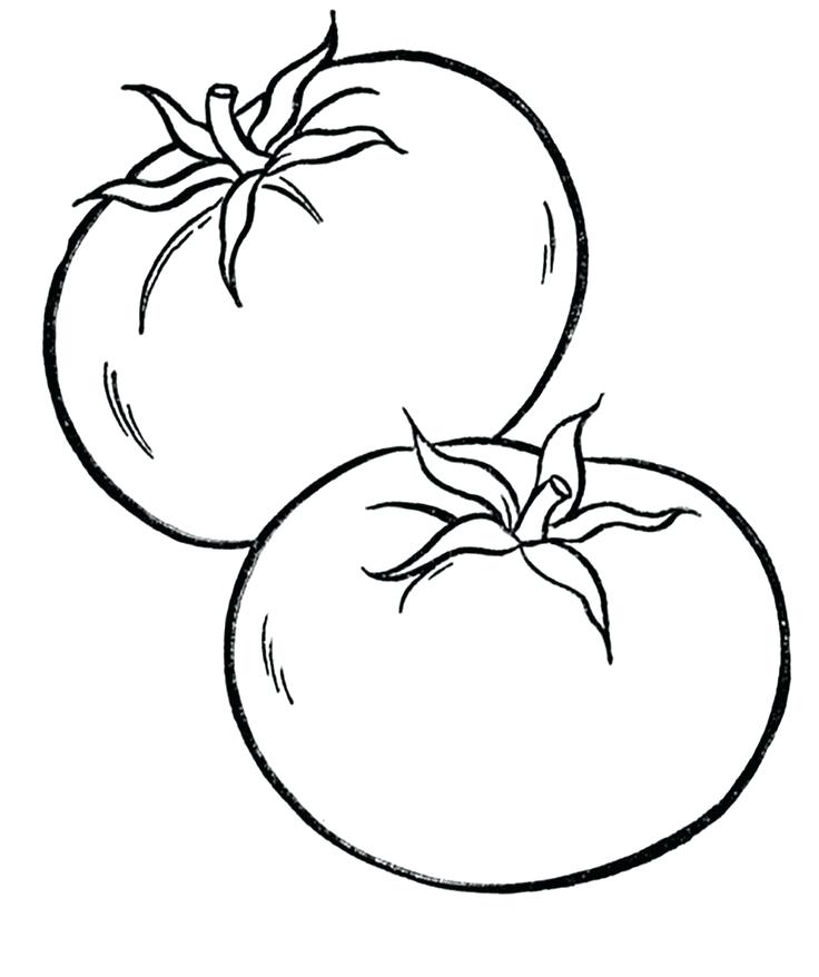 Vegetable Coloring Pages Free Download Best Rhclipartmag: Coloring Pages For Vegetables At Baymontmadison.com