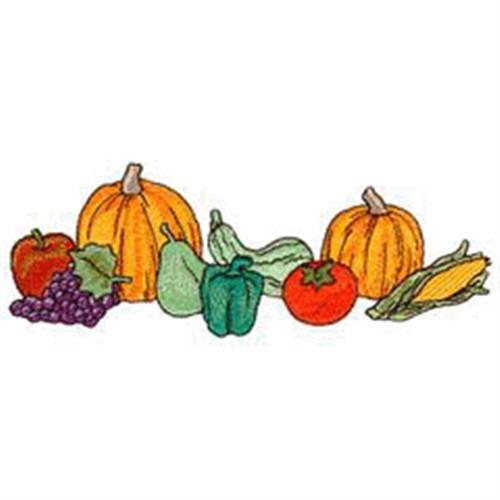 500x500 Vegetable Border Cliparts 271060