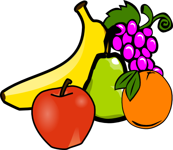 600x522 Fruits Amp Vegetables Clipart Fruit Bowl