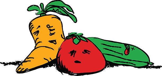 612x288 Rotten Vegetables Clipart
