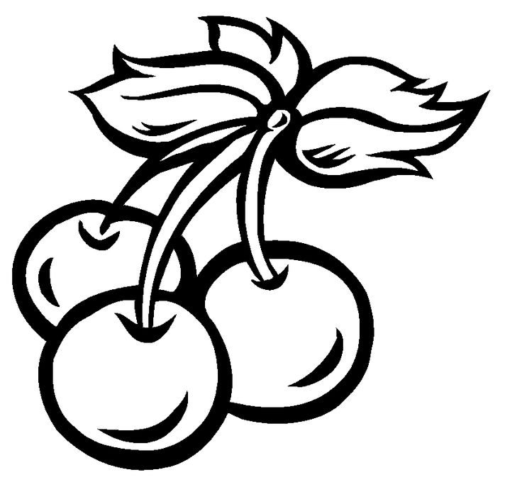 736x680 Black And White Clipart Of Fruits And Vegetables