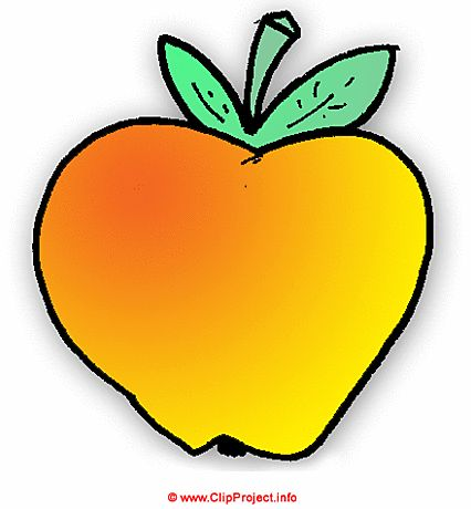 426x460 Fancy Fruits And Vegetables Clipart Apple Clip Art Image Free Food