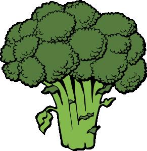 291x299 Broccoli Clip Art