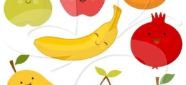 272x125 Fruit And Vegetable Clipart Free Clipart Images 2 Clipartcow
