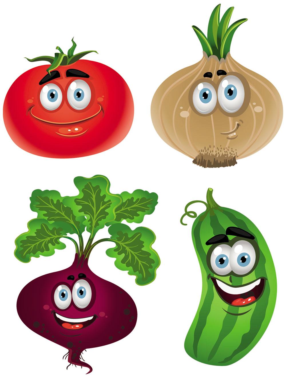 1000x1322 Clip Art Cartoon Vegetables Clipart
