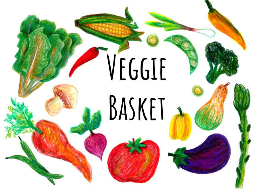 905x676 Hand Drawn Vegetable Clip Art, Hand Drawn Clipart With Colorpencil