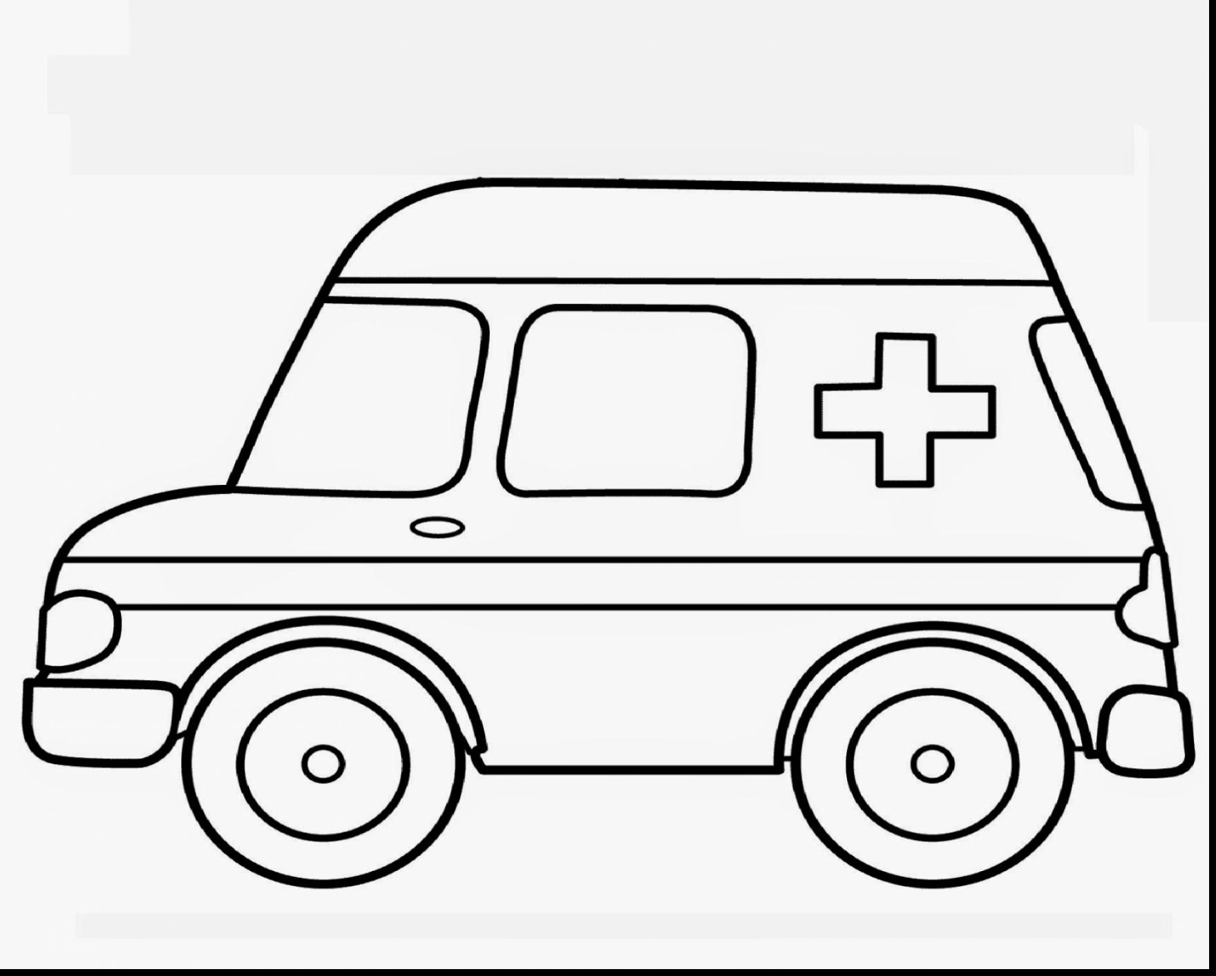 1760x1413 Terrific Ambulance Coloring Pages Printable With Transportation