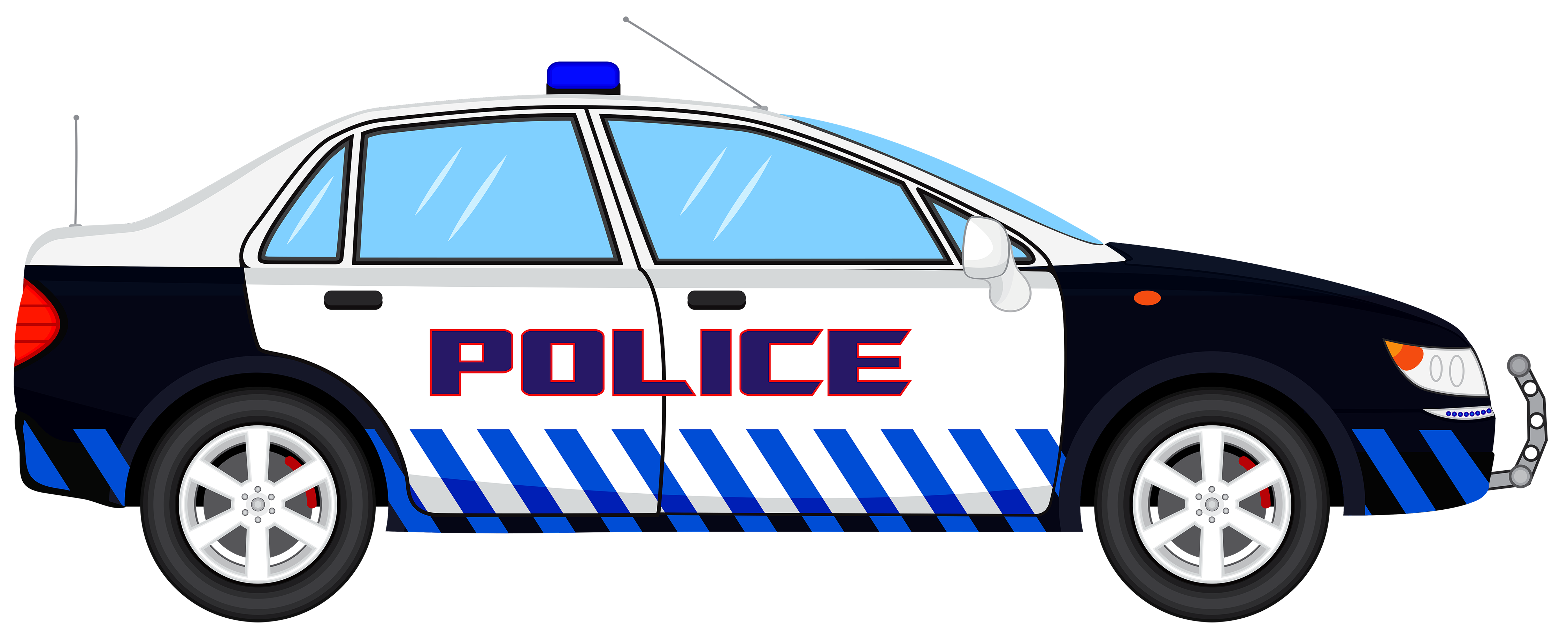 4500x1817 Police Car Clip Art Many Interesting Cliparts