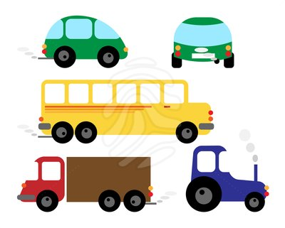400x321 Vehicle Clipart Clipart Panda