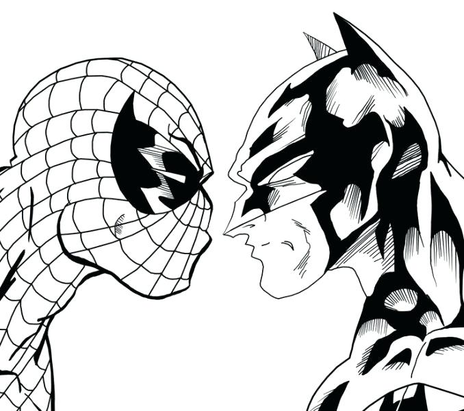 678x600 Coloring Pictures Of Spiderman Spectacular Coloring Coloring