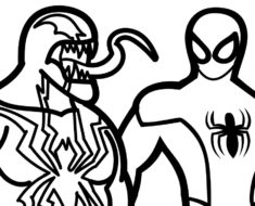 235x190 Flash Coloring Page