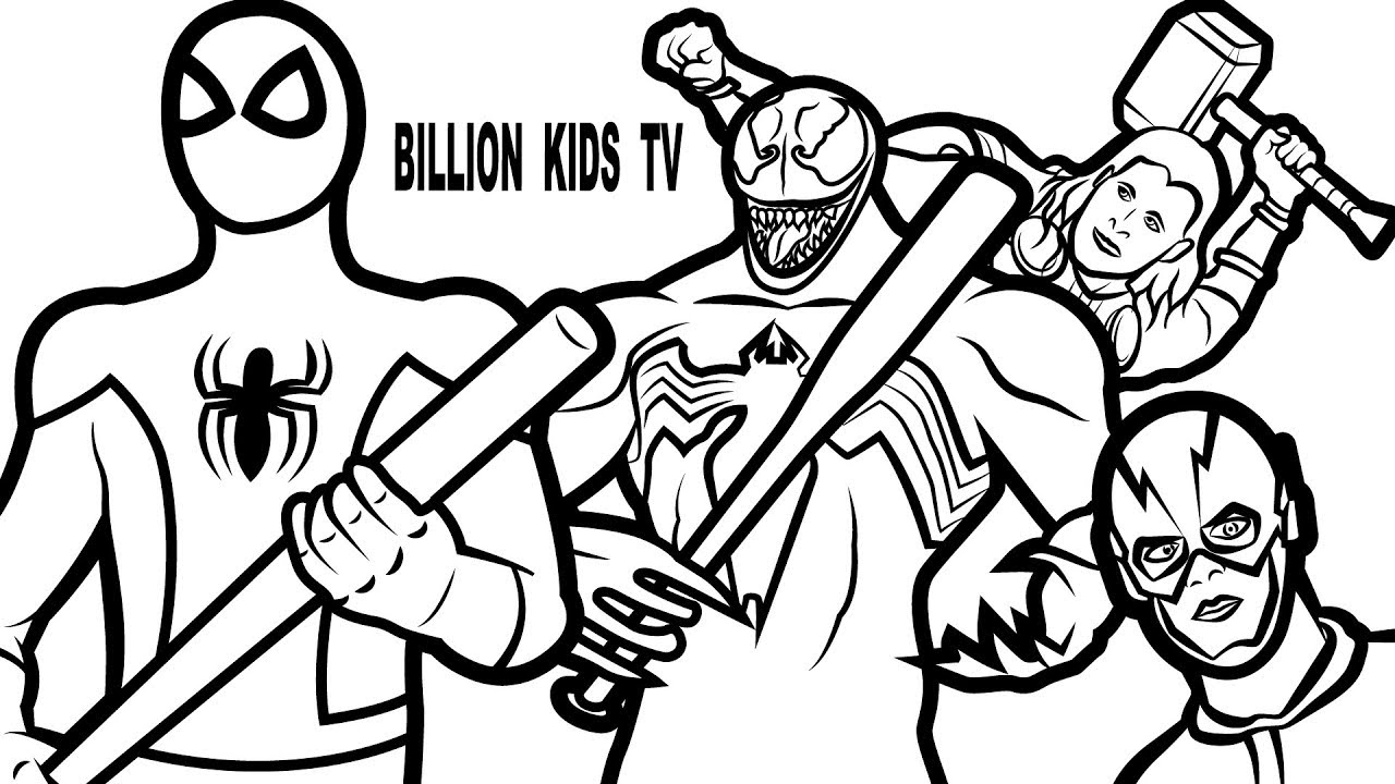 Venom Coloring Pages | Free download best Venom Coloring Pages on ...
