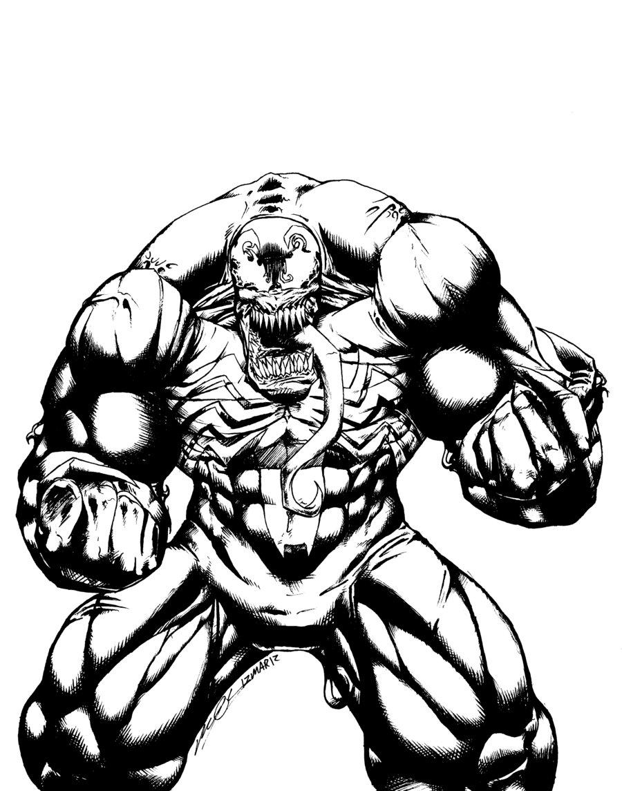 900x1145 Venom, Spiderman Enemy Coloring Pages Printable