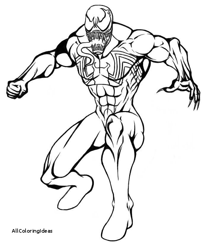Venom Coloring Pages Free Download Best Venom Coloring