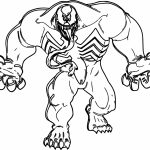 150x150 Big Venom Coloring Page Wecoloringpage Within Venom Coloring Pages