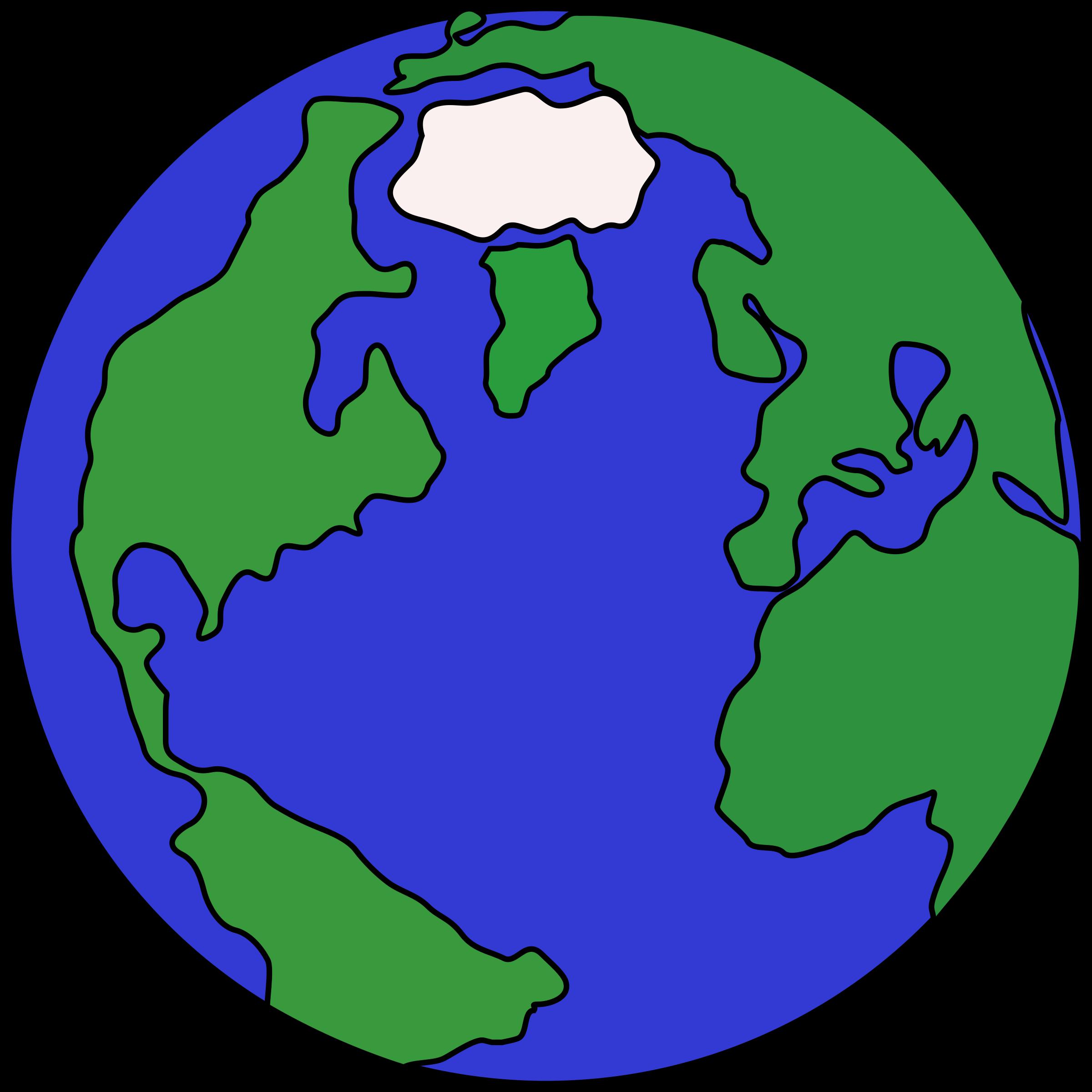 2400x2400 Planet Clipart
