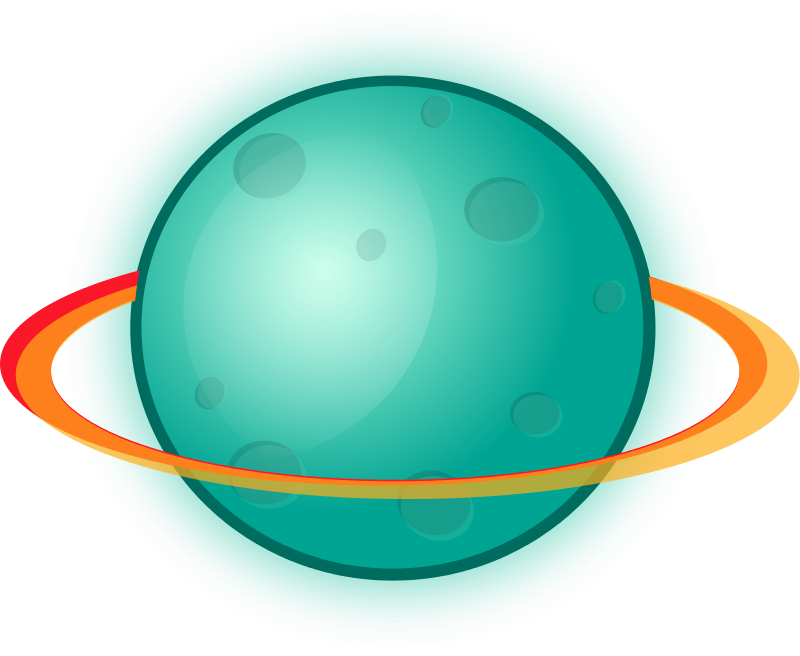 800x656 Space Clipart Cartoon Planet