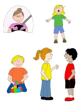 268x350 Kids In Action 1 Clip Art Action Verbs, Illustrated! By Rebekah Brock