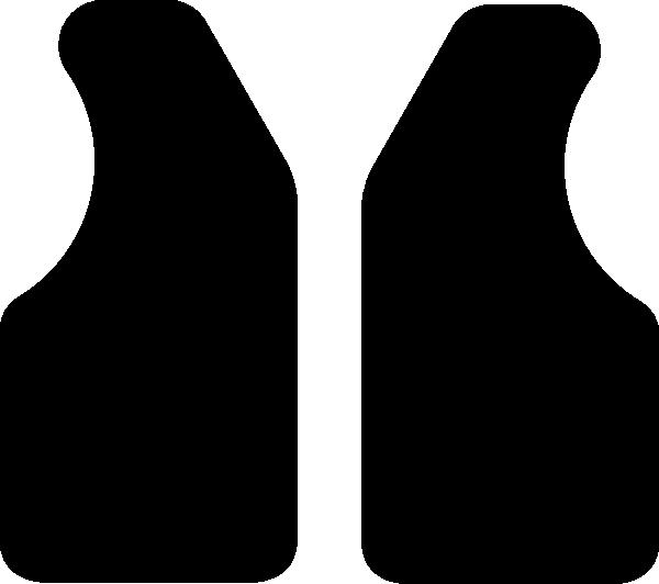 600x532 Black Vest Clip Art