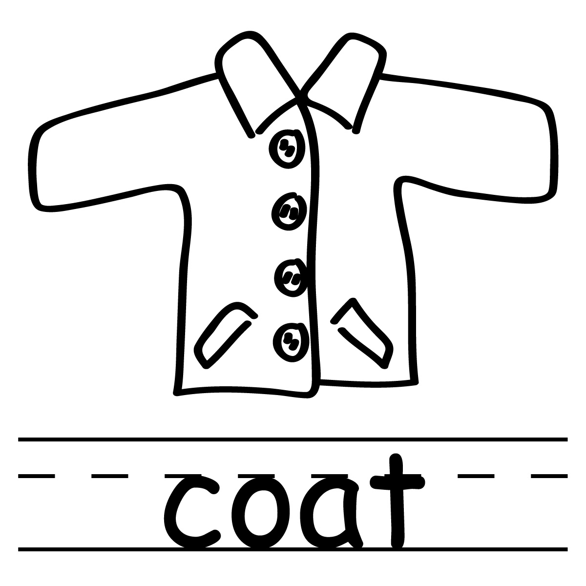 1200x1200 Jackets Outline Cliparts