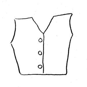 300x300 Vest Clipart Black And White. 3xl Vest Clipart Black And White C