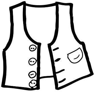 332x321 Vest Outline