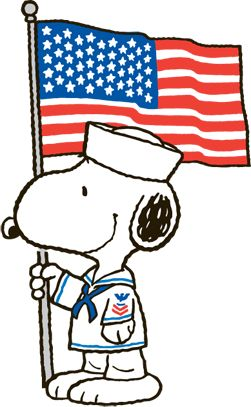 251x407 Snoopy Clipart Veterans Day