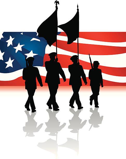 485x612 Veterans Day Parade Clipart