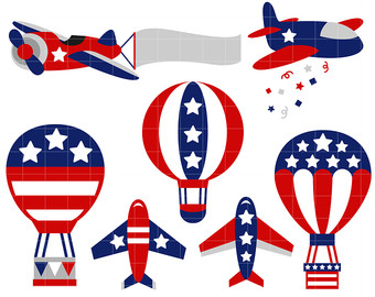 340x270 4th Of July Clip Art Etsy