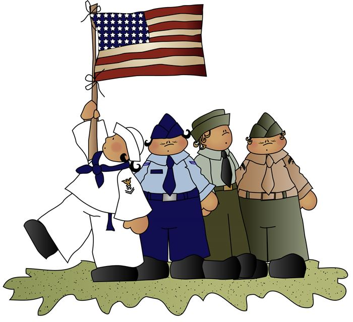 700x639 Military Veteran Clip Art