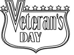 236x175 Black And White Veterans Day Clip Art