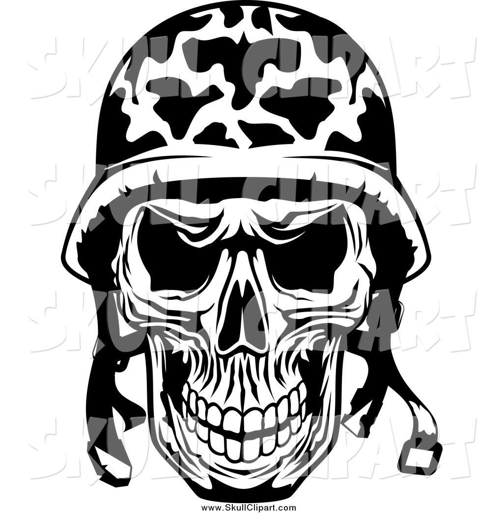 1024x1044 Military Clipart Skull
