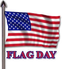 250x280 Flag Day Clip Art