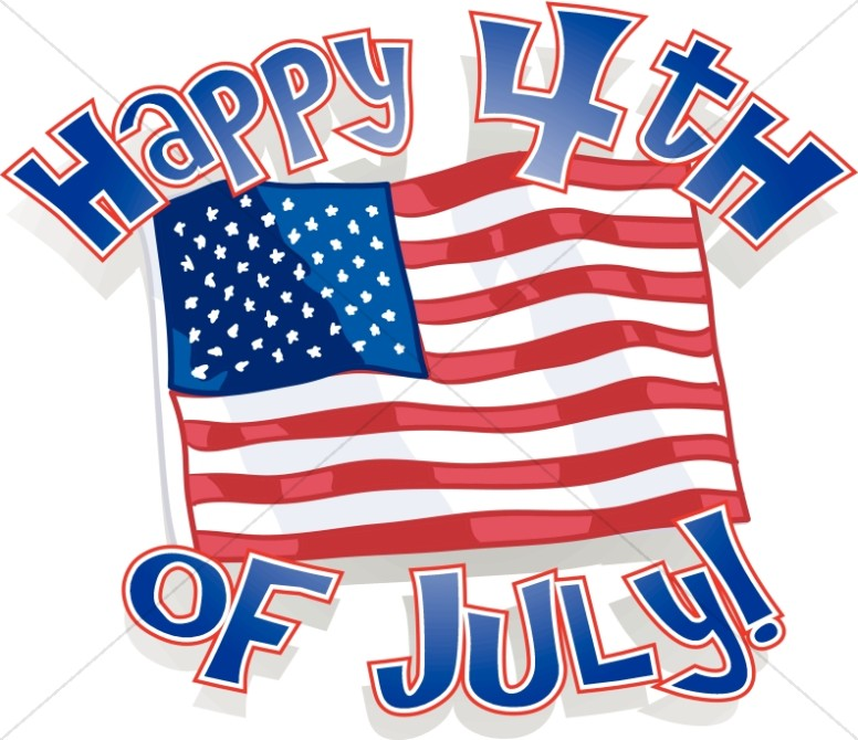 776x670 With Liberty And Justice For All Independence Day Word Art