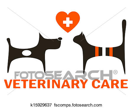 450x366 Stock Illustration Of Symbol Of Veterinary Care K15929637