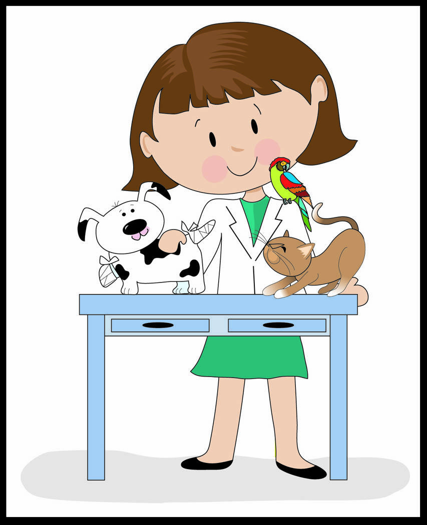 853x1050 Veterinarian Assistant Clip Art Cliparts