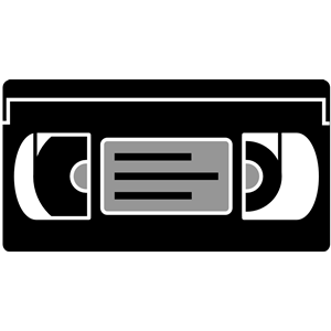 300x300 Simple Vhs Tape Clipart, Cliparts Of Simple Vhs Tape Free Download
