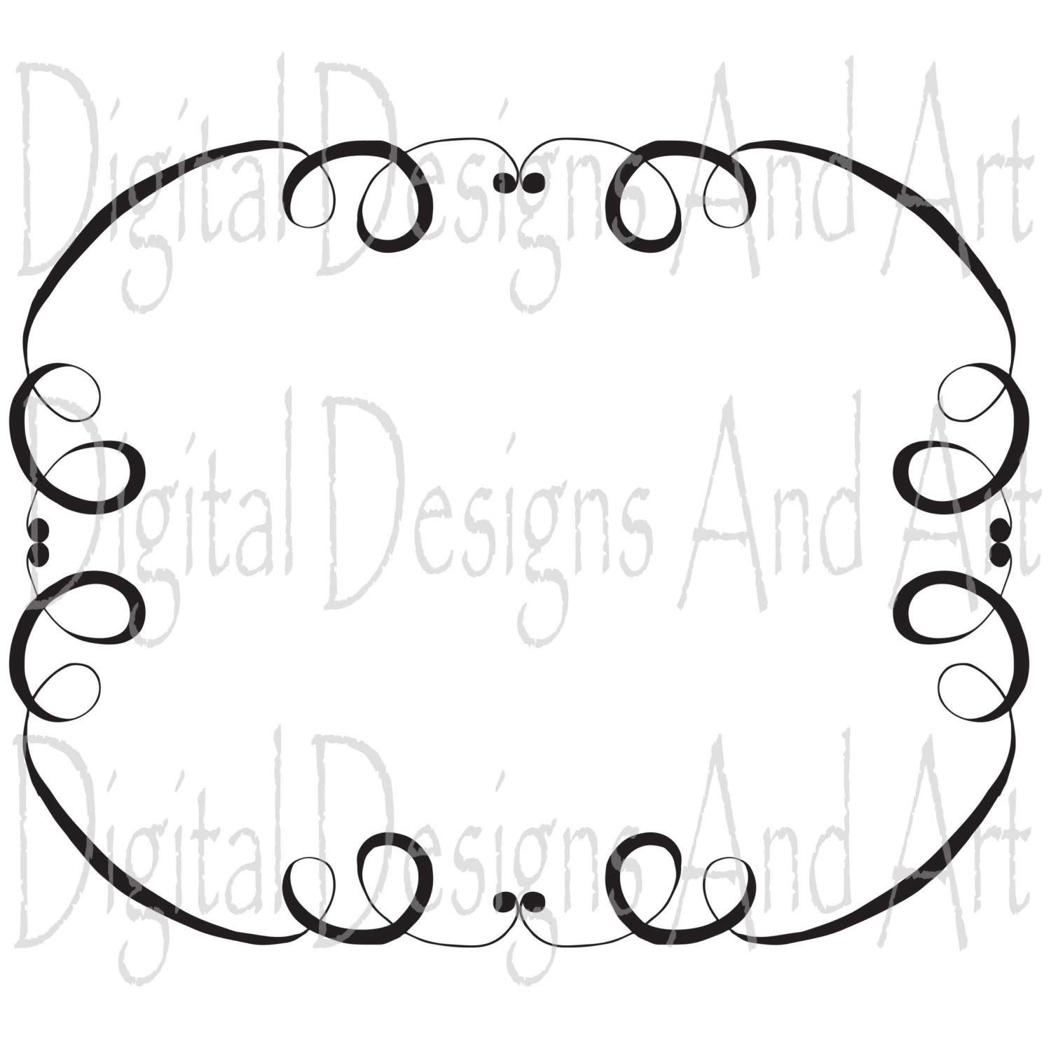 1500x1500 Digital Wedding Frames, Digital Frame, Weding Clipart, Digital