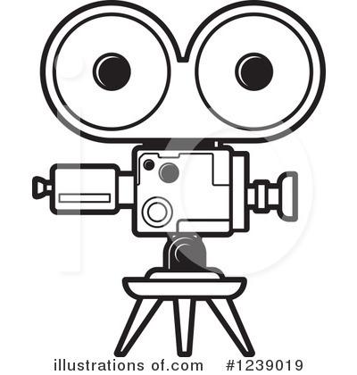 400x420 Video Camera Clipart