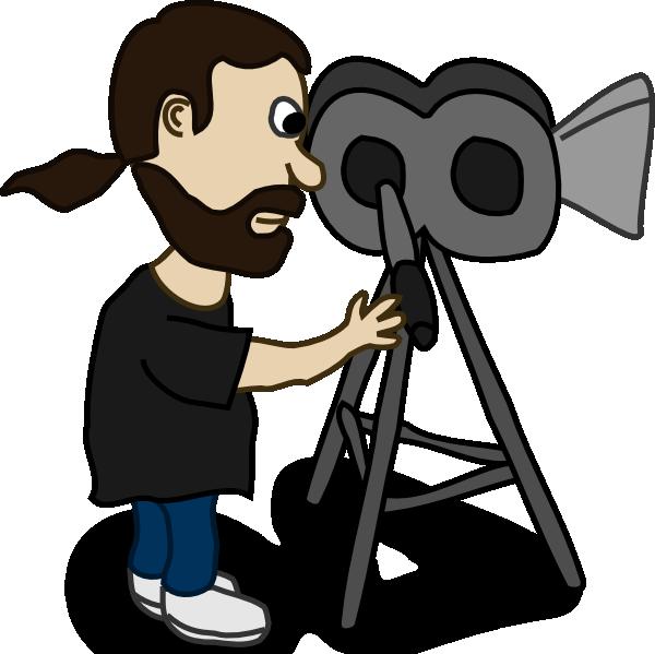 600x599 Comic Characters Filmmaker Clip Art