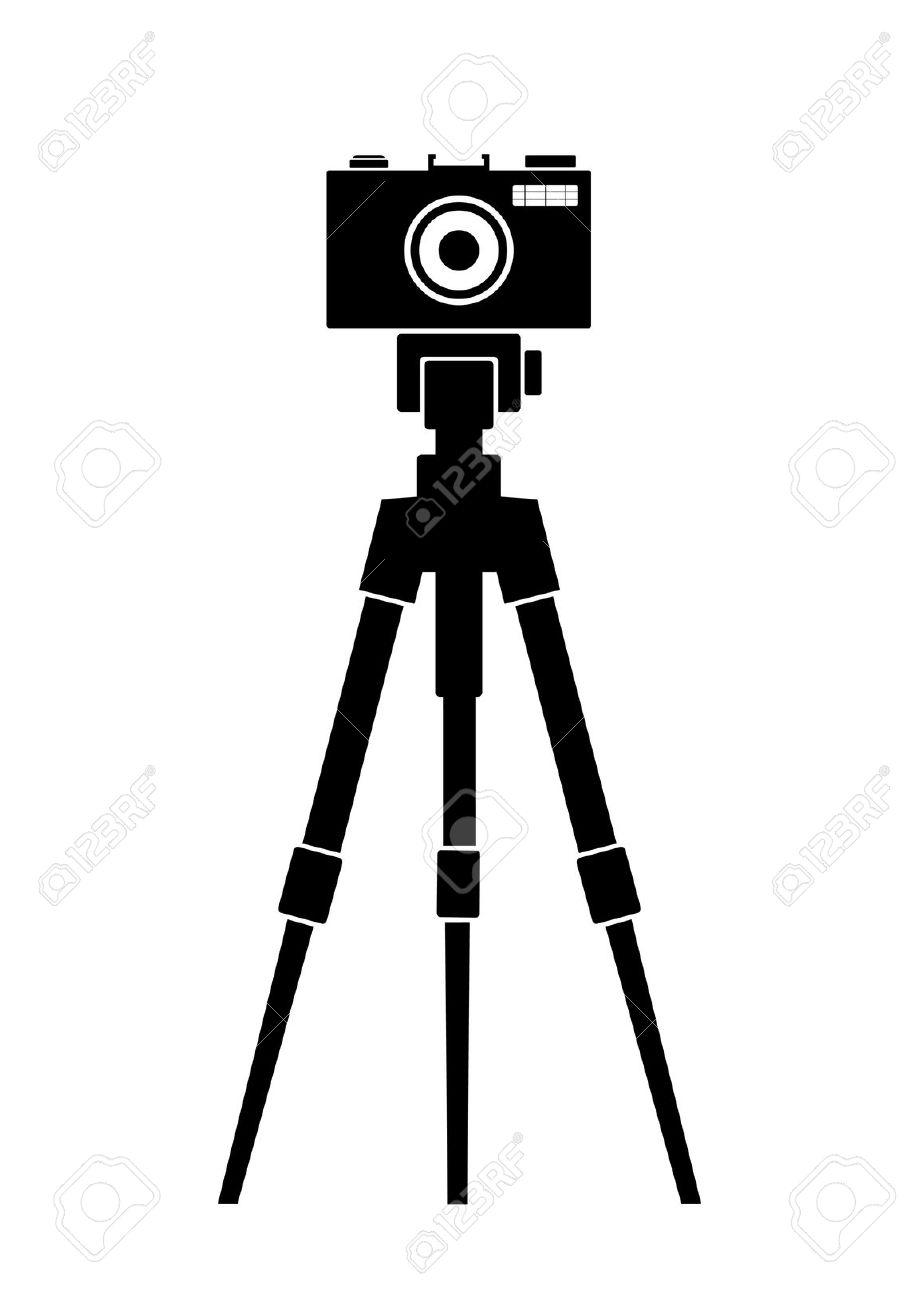 919x1300 Photography Clipart Camera Tripod