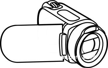 350x220 Video Camera Camera Reel Clipart Kid