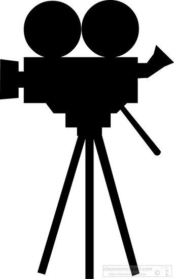 343x550 Video Camera Logo Clipart