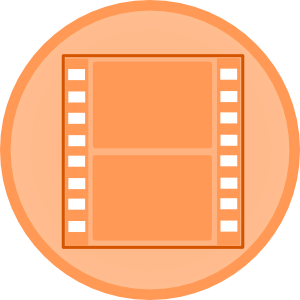 300x300 Movie Video Clip Art