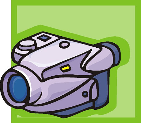 460x400 Clip Art Video Camera Co Image