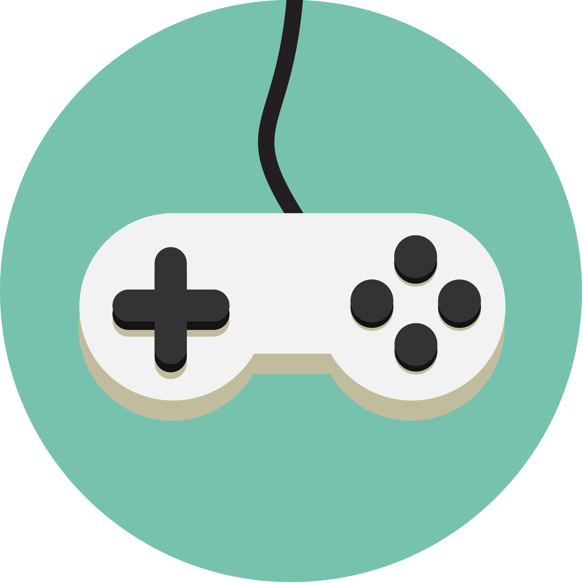 2000x2000 Filevideo Game Controller Icon Idv Green.svg