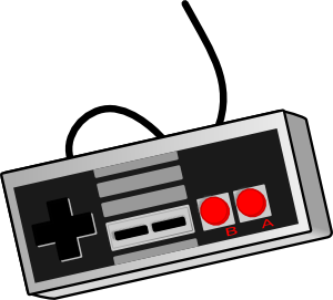 300x271 Bhspitmonkey Old School Game Controller Clip Art