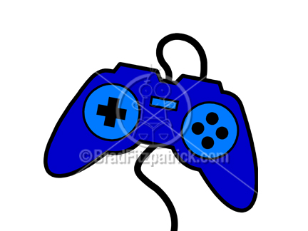 432x324 Cartoon Video Game Controller Illustration Royalty Free Video