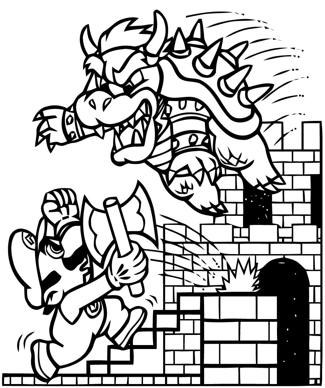 900x1075 Mario Bros